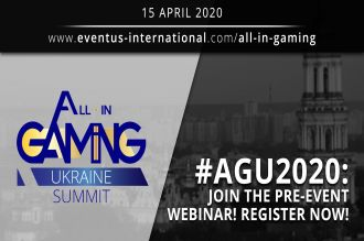 Eventus International brings you a Pre-AGU (All-in Gaming Ukraine) 2020 Webinar: A Sneak Peek of 2019 developments and What to Expect at AGU 2020