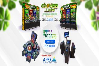 CLOVER LINK FROM APEX GAMING TO TAKE CENTRE STAGE AT BEGE