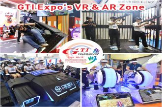 VR & AR Zone of GTI Asia China Expo