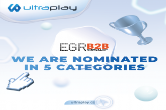 UltraPlay is shortlisted in 5 categories at the prestigious EGR B2B Awards 2021
