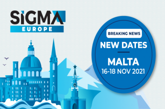 The SiGMA Europe show will now run from 16-18 November, and will be held at the MFCC, Malta after a surge in Covid-19 cases led to the temporary closure of Malta's nightlife scene