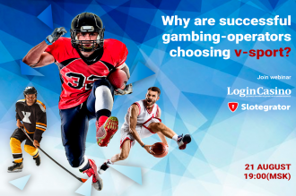 Why are gambling operators choosing virtual sport? Login Casino and Slotegrator present a joint webinar