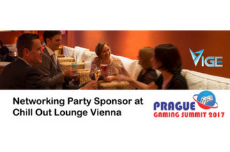 VIGE2017 announces Monday night Networking Party - Sponsored by Prague Gaming Summit